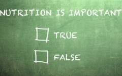 nutrition true false